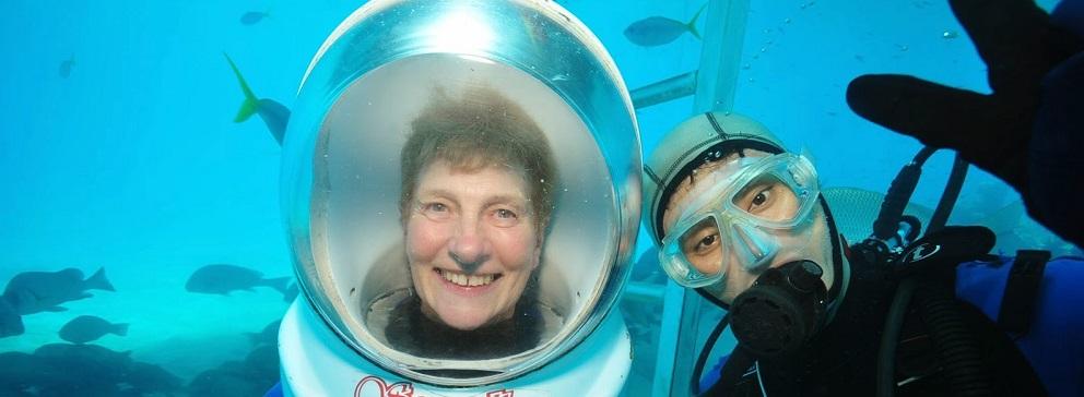 Helmet Diving – Green Island