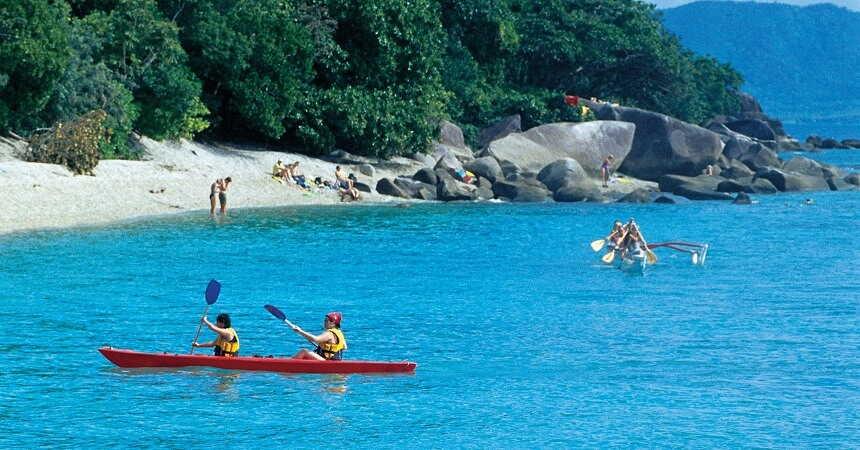 fitzroy island kayaking