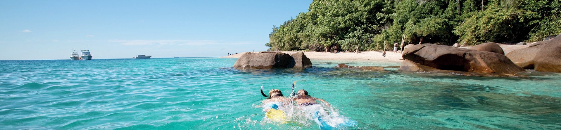 Is it safe to swim at Fitzroy Island?